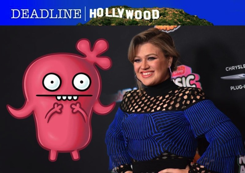 "Kelly Clarkson in ""UglyDolls"" movie"