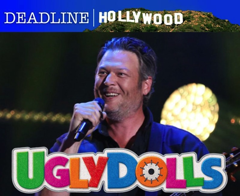 "Blake Shelton in ""UglyDolls"" movie"