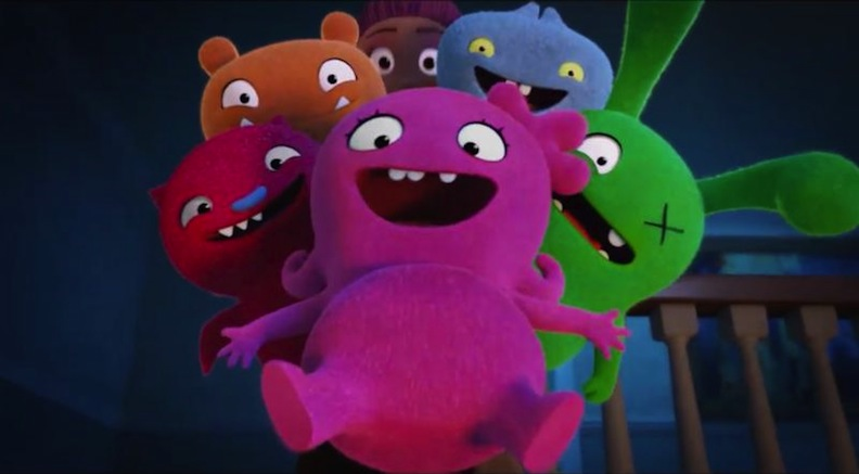 cast of UglyDolls movie