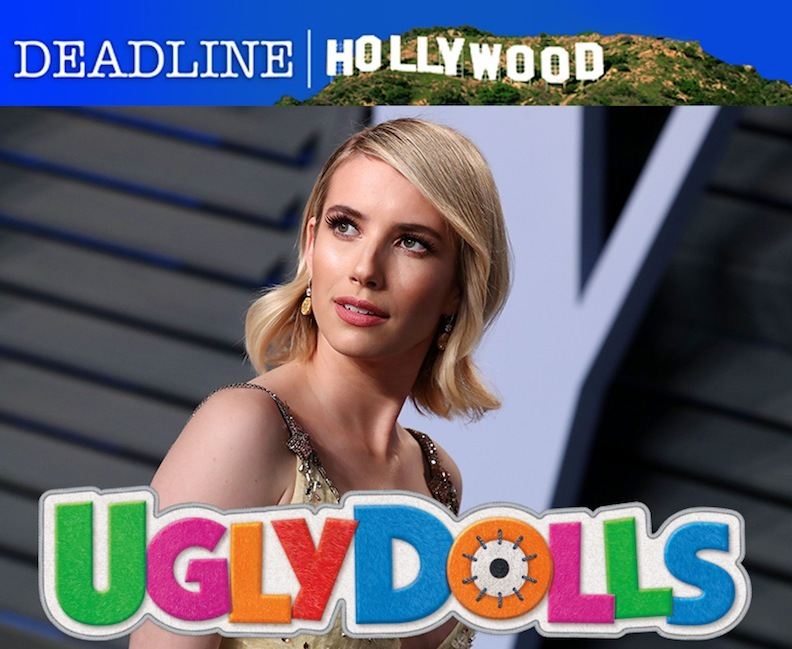 "Emma Roberts in ""UglyDolls"" movie"