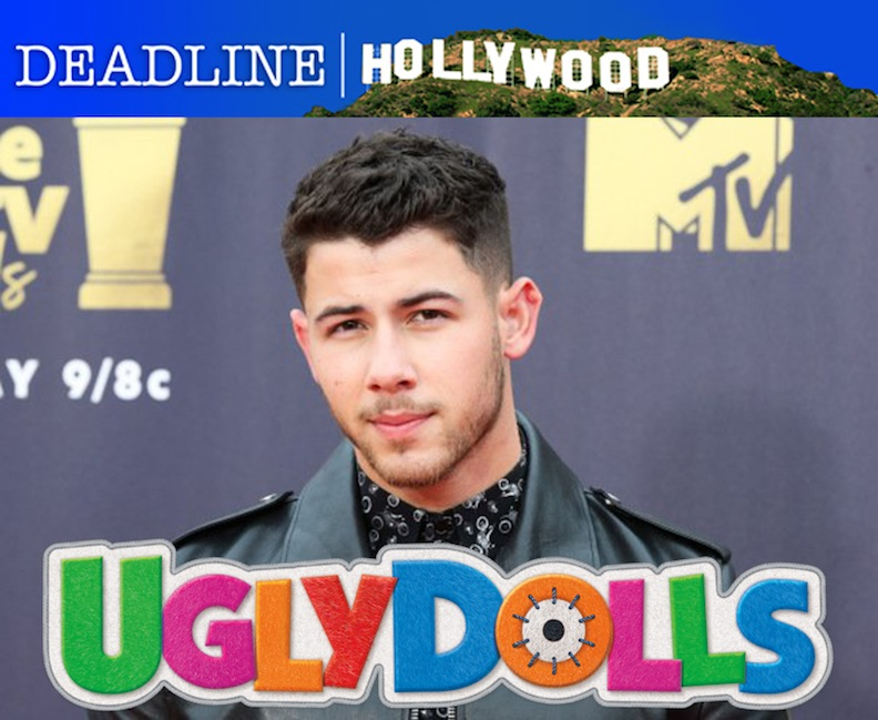 "Nick Jonas ""UglyDolls"" movie"