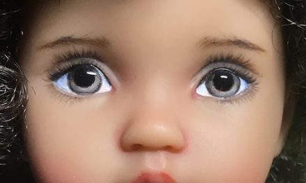 Facing the Future: April Norton excels at customizing lovely dolls