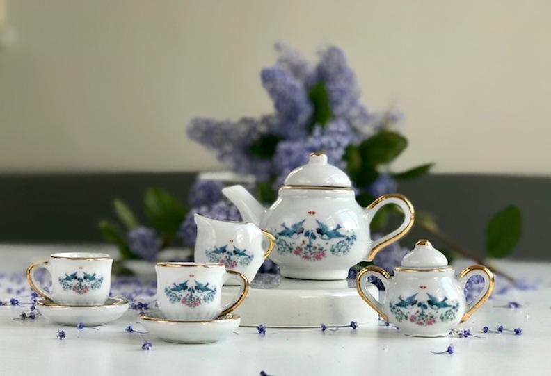 Amelia's tea set