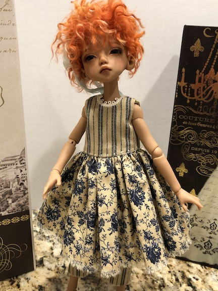 Edith Schmidt clothing for bbflockling doll