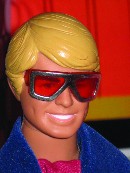 Disco was hot in the late 1970s, and Ken danced his way into the scene with glasses that fit into slots on his temples.