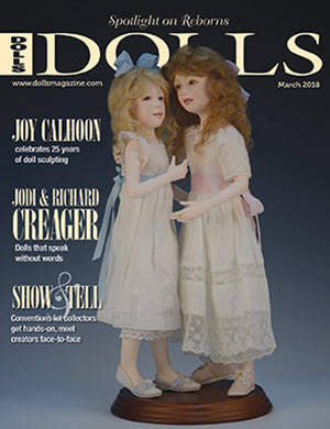 DOLLS magazine March 2018