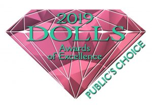 Dolls Awards of Excellence Public's Choice logo