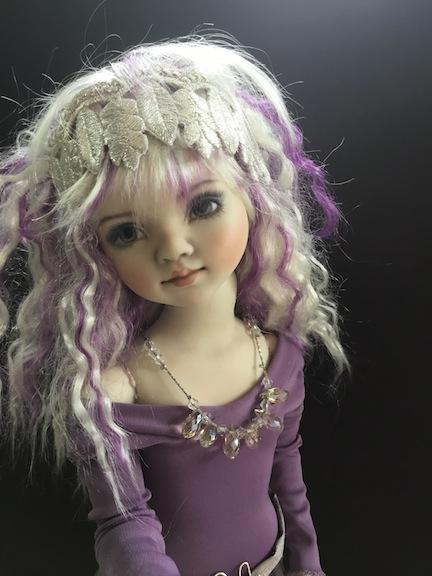 April Norton Amythest Trio doll