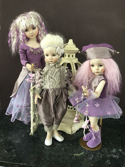 Amethyst Trio by April Norton