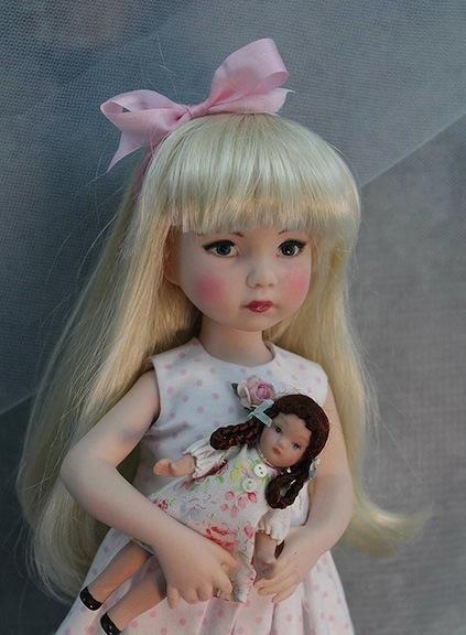 Brenda Mize doll ingrid