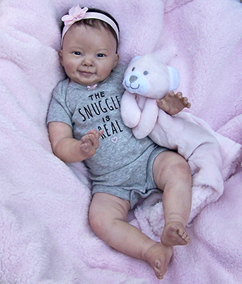 Collectible Baby Doll: Leilani, Lauren Faith Jaimes