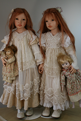 Custom Child Doll: Guusje and Jordan, Zofia and Henry Zawieruszynski