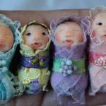 Sugarplum Fairies and Pixies: Judy Pollard's dolls sprinkle Christmas magic