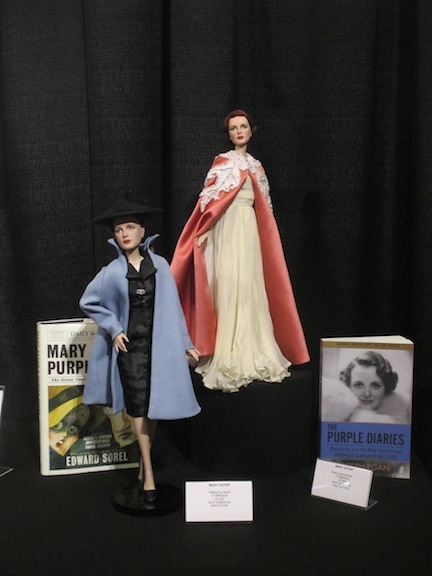Robert Tonner's Mary Astor dolls debuted at the New York Toy Fair 2017.