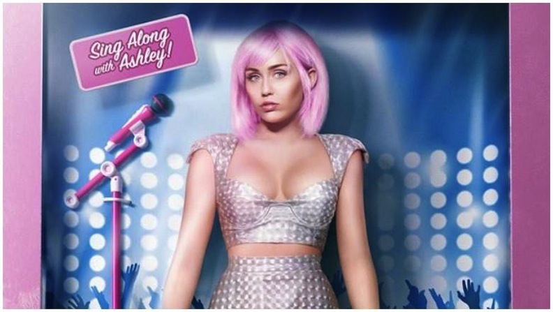 "The Netflix series ""Black Mirror"" took pop-music packaging to an extreme. Miley Cyrus played a star replicated as a doll who can't distinguish her truth from her PR agency's lies. Photo courtesy of Netflix/Zeppotron"