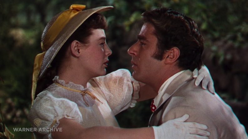 "June Allyson as Jo and Peter Lawford as Theodore ""Laurie"" Laurence. Their scenes together are emotionally charged. Photo courtesy of MGM/Warner Archives"