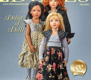 DOLLS magazine July 2016 – Collector's Debut Edition