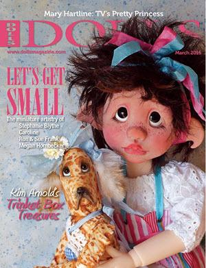 DOLLS magazine March 2016