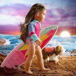 American Girl 2020: Surfer Joss Kendrick's hearing loss doesn't slow her down