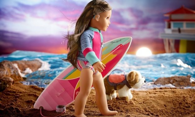 American Girl 2020: Surfer Joss Kendrick's hearing loss doesn't slow her down