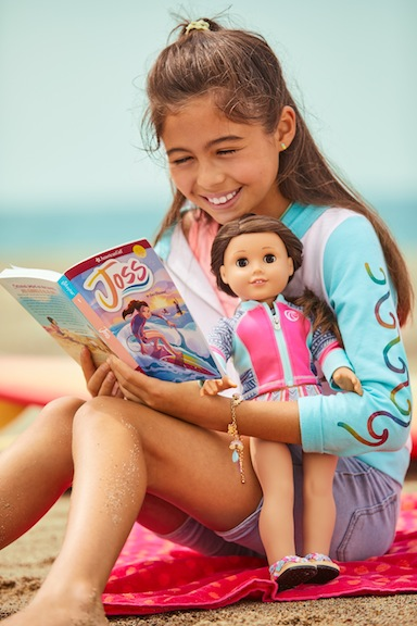 Young girls will have two books that chronicle Joss's adventures on the water and in the gym.