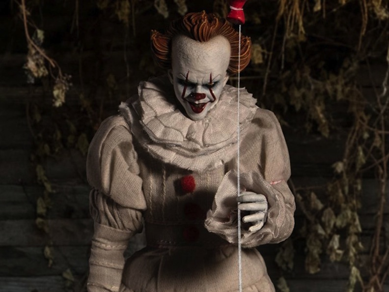 "A penny for your thoughts? How about a dollar for your anxieties? Mezco Toyz conjured up a chilling interpretation of King's Pennywise the clown. The gruesome force from ""It"" has been haunting children and adults for decades now."