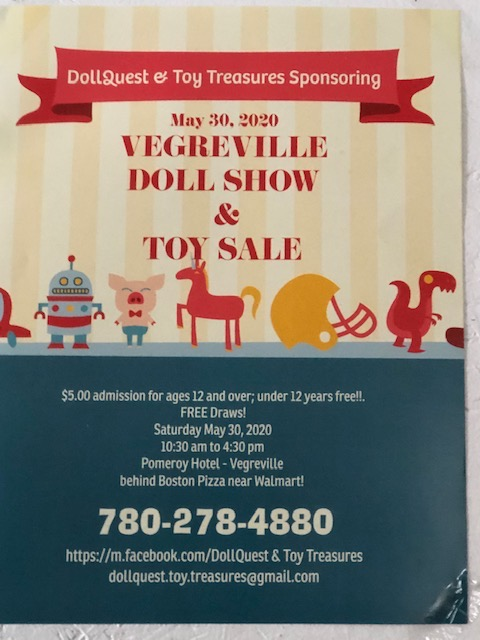 Vegreville Doll & Toy Show