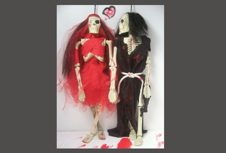 Bloody Good Valentines: Exstasie Harvey's Dolly Dames celebrate undying love