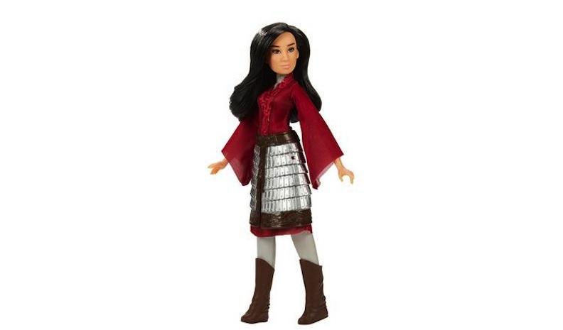 Reflecting on mulan: Hasbro debuts dolls for new disney film