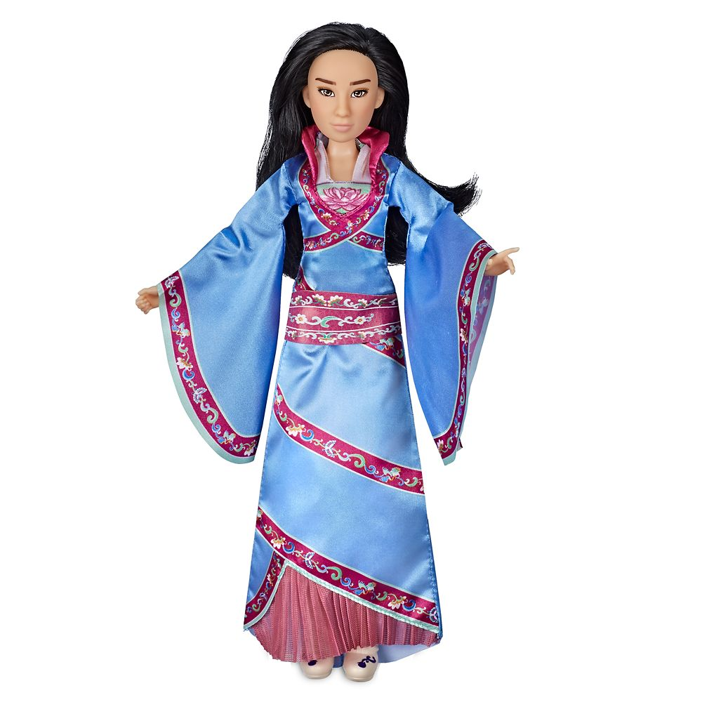 "The new Hasbro Mulan in one of her ""Two Reflections"" costumes."