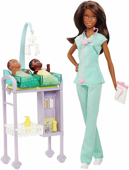 Mattel's Barbie as a neonatal specialist