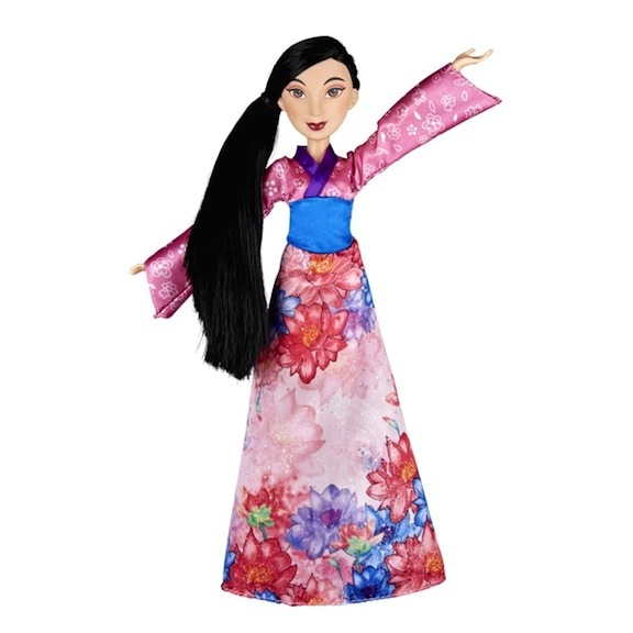 Hasbro has released the Disney Princess Mulan in many different outfits. Here is her Royal Shimmer version.