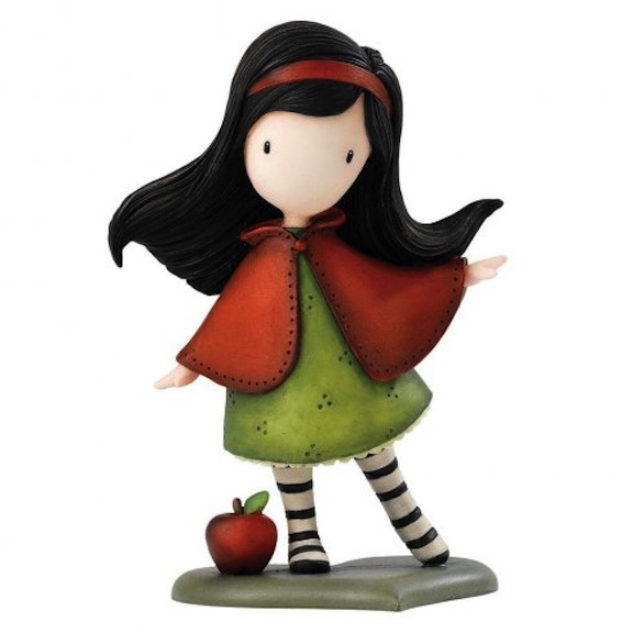 Little Red is one of the brand-new mini figures from Planeta Deagostini. This charming character is scented with an apple fragrance.