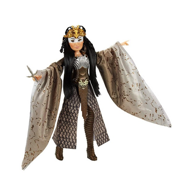 International star Gong Li plays a shapeshifting witch in the new Disney live-action movie. Naturally, Hasbro has made a doll in her likeness.