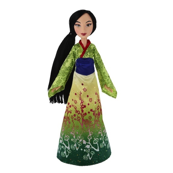The original Mulan dolls, based on the cartoon, always had a sense of fashion and elegance about them.