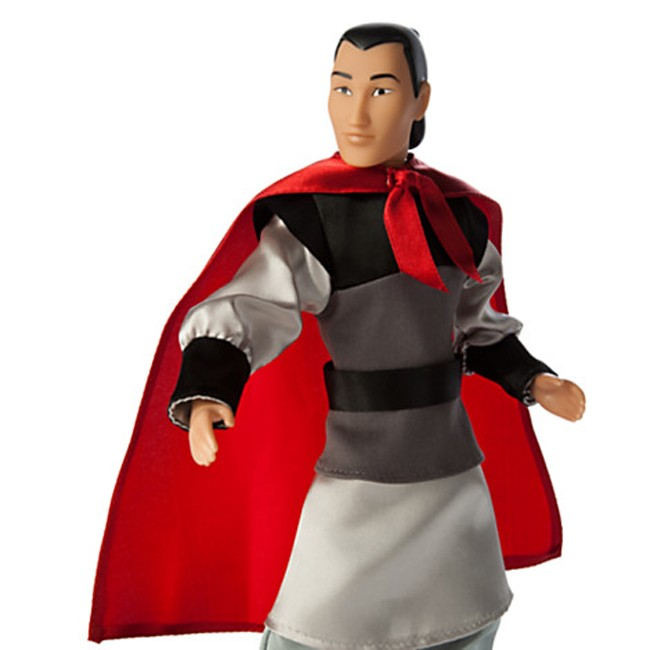 In years gone by, Li Shang was a popular character and doll. Cut out of the new 2020 release, his doll is even more of a collector's item today.