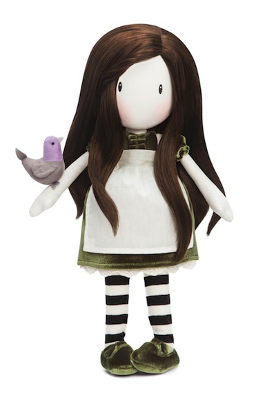 On Top of the World is a special edition Gorjuss Girls cloth doll. Many of the cloth and Paola Reina dolls can be ordered on the Santoro website.
