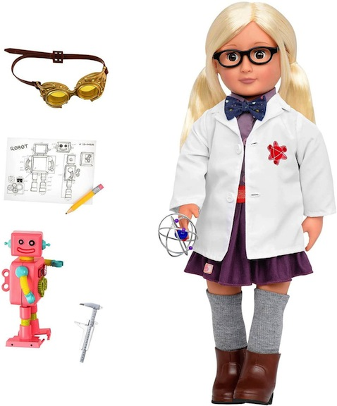 Our Generation's Amelia Inventor doll