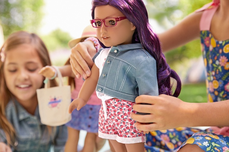 This year's American Girl dolls feature new hair colors, accessories, and fashion styles.