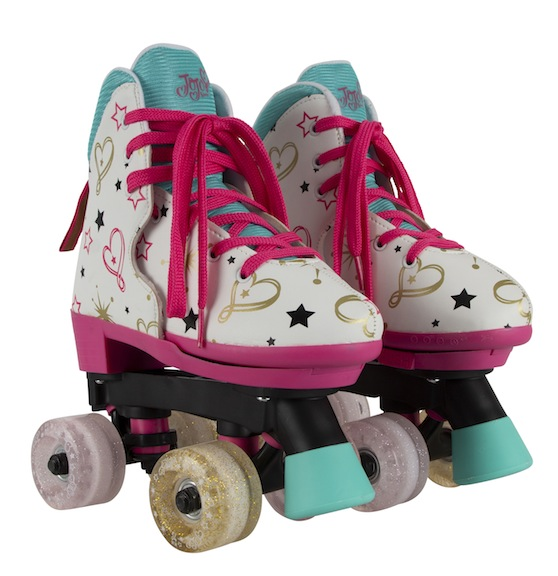 Circle Society has produced two different styles of roller skates for JoJo's legion of fans. The Siwanatorz can enjoy lacing up skates that were personally designed by their idol.