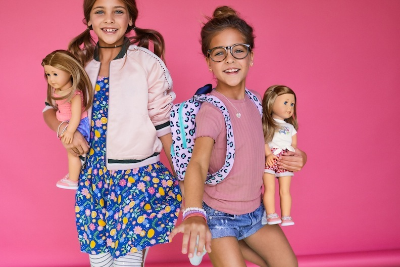 When the Clements Twins, child models and Internet influencers, posed for these American Girl fashion shoots, the world was a different place.
