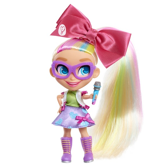 JoJo is now part of the Hairdorable squad. Boasting a big bow and a side-swept ponytail, the doll is safe for ages 3 and up. Priced at under $13, it is available online (Amazon) and at retail giants like Walmart and Target.