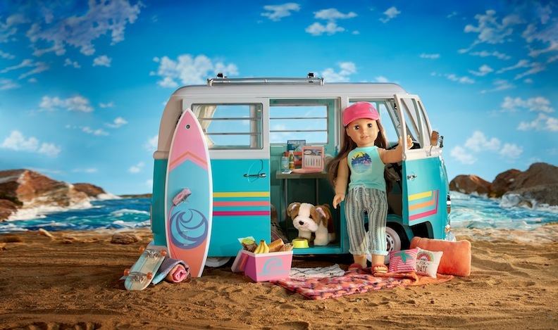 The brand-new VW surf bus can open up hours of playtime and discussions about where you and your family plan to travel one day.