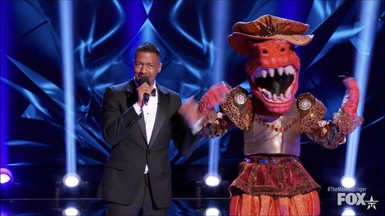 "On Fox-TV's ""The Masked Singer,"" JoJo bounced and belted, dressed up as a dinosaur. The teen was unmasked, but not defeated. She told host Nick Cannon, ""I had the best time"" and ""loved dressing up and performing."""