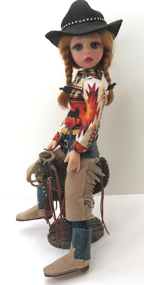 "Cheyenne 2. Moulton said this version is ""one of my favorites of the cowgirls."""