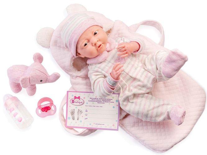 Carry Me La Newborn in Pink