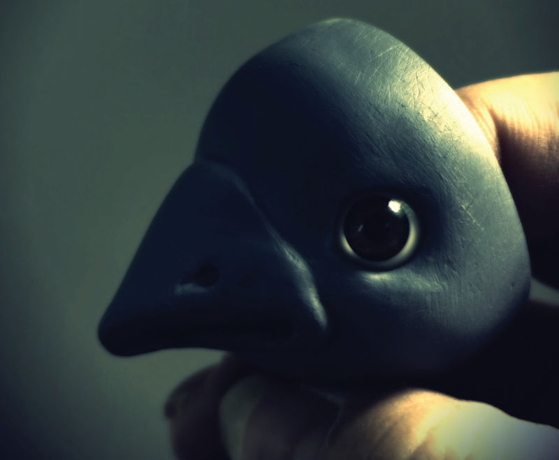 Lowe is creating Nevermore for the Pacific Northwest BJD Expo, now scheduled for September.