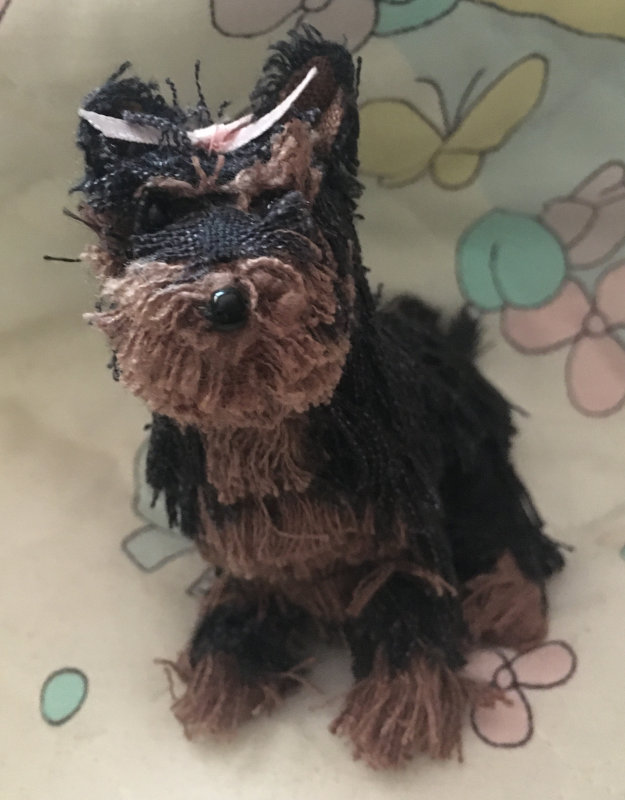 A OOAK Yorkie puppy by Moulton.