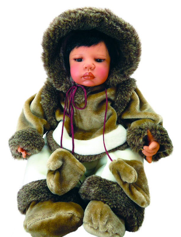 Pat Moulton sculpted this Eskimo doll in 2004.