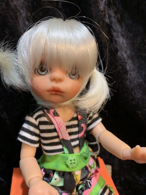 One of Moulton's resin BJDs